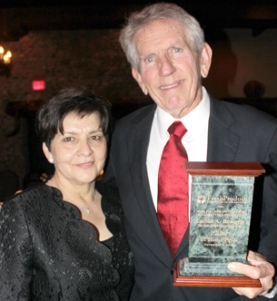 Robert Bennen Sr. with wife Rosie