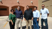 Ta-De team and colleagues, from left: Rosie Bennen, Bob Bennen, Joel Ojeda (importer), Joey Bernal and Jesus Clark at the Consulate of Mexico for the Binational Fair